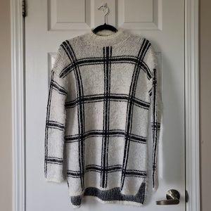 Forever 21 - Eyelash Knit Plaid Sweater